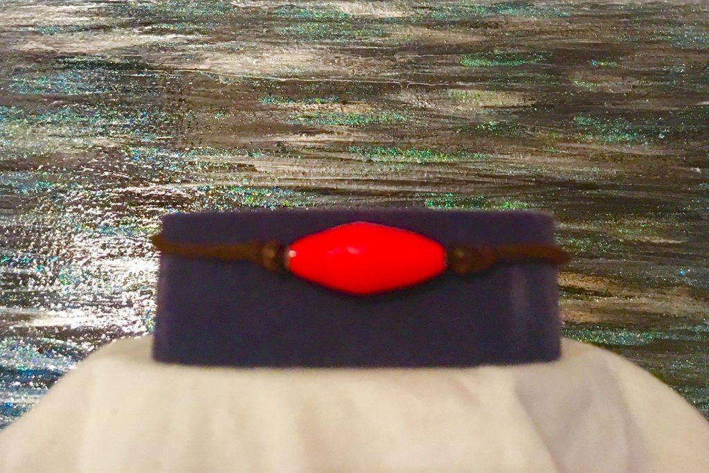 red-braclet
